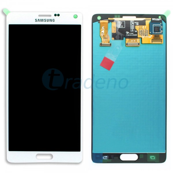 Samsung SM-N910F Galaxy Note 4 - Display Einheit Weiss - Touchscreen + LCD