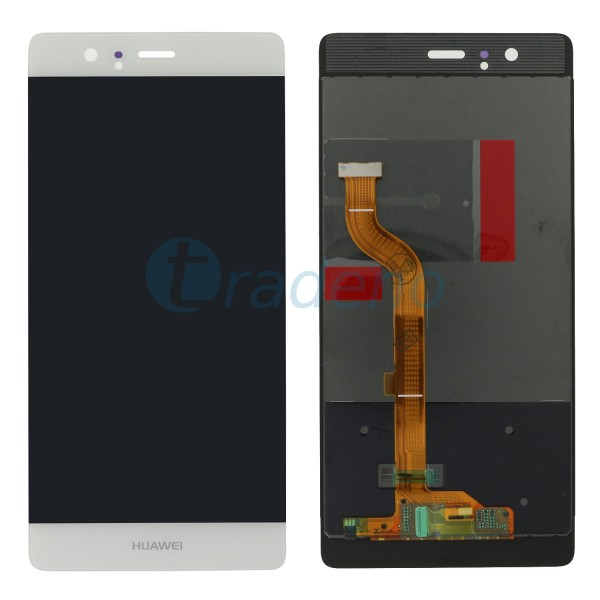 Huawei Ascend P9 Display Einheit - LCD + Touchscreen Weiss