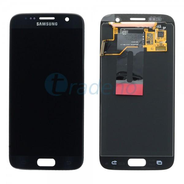 Samsung SM-G930F Galaxy S7 - Display Einheit Schwarz - LCD + Touchscreen