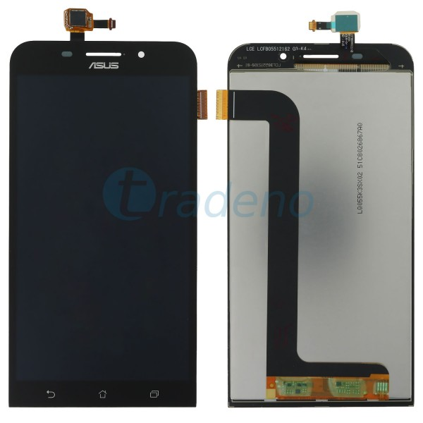 Asus Zenfone Max - Display Einheit - LCD + Touchscreen Schwarz