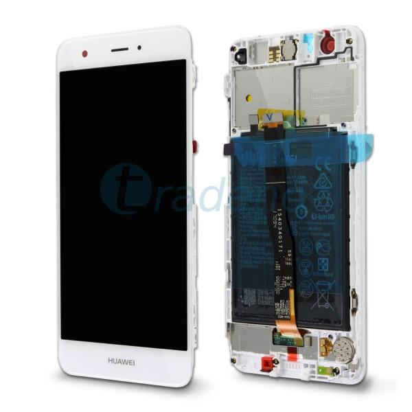 """Huawei Nova Display Einheit, LCD """"Bestückt"""" Weiß , Service Pack"""