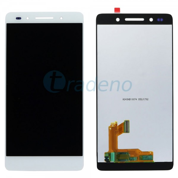Huawei Honor 7 Display Einheit - LCD + Touchscreen Weiss
