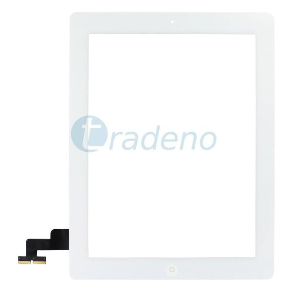 Touchscreen für iPad 2 + Home Button Weiss