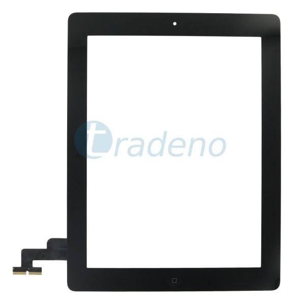 Touchscreen für iPad 2 + Home Button Schwarz