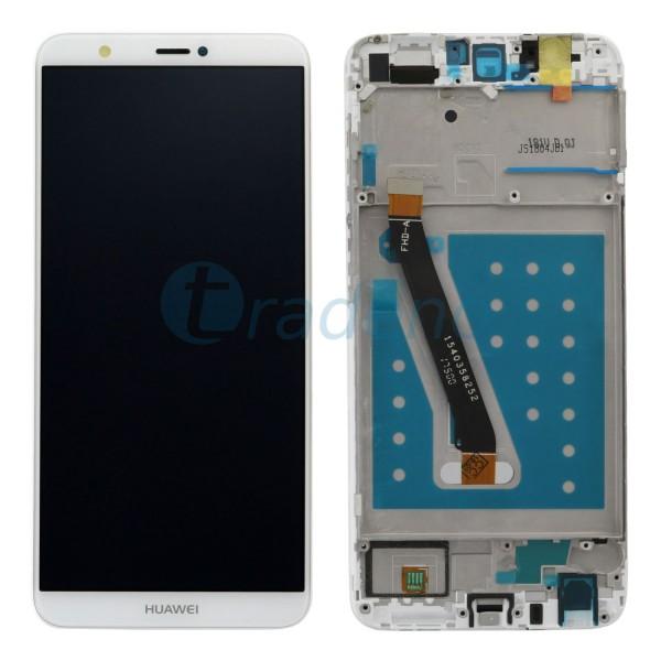 Huawei P Smart Display Einheit Weiss Rahmen
