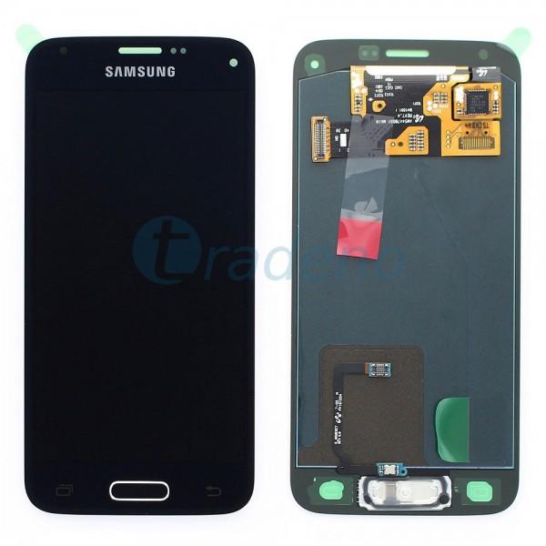 Samsung SM-G800F Galaxy S5 Mini - Display Einheit Schwarz - LCD + Touchscreen