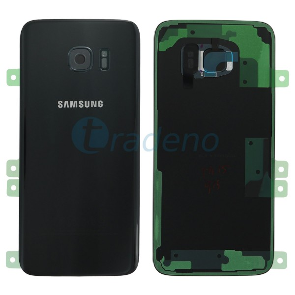 Samsung G935F Galaxy S7 Edge Akkudeckel, Batterie Cover Schwarz