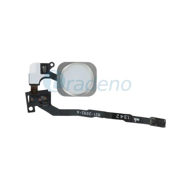 Home Button / Fingerabdruck Sensor Flex Kabel für iPhone 5S / SE- Weiss