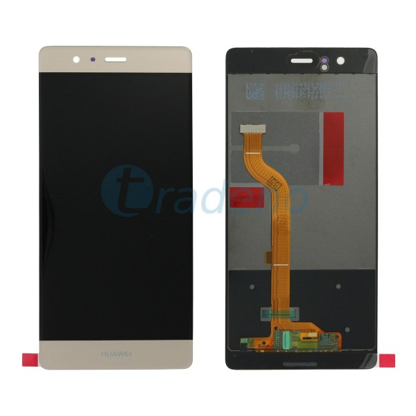 Huawei Ascend P9 Display Einheit - LCD + Touchscreen Gold