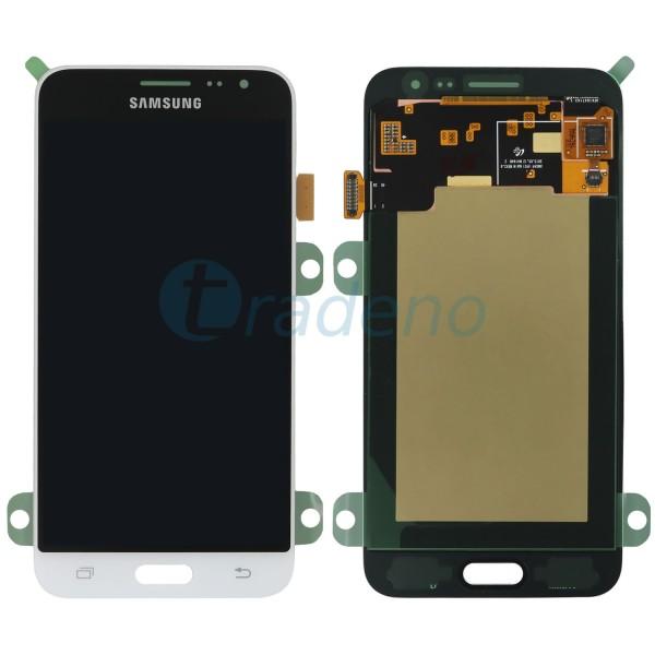 Samsung J320FN, J320F Galaxy J3 (2016) Display Einheit Weiss - LCD + Touchscreen