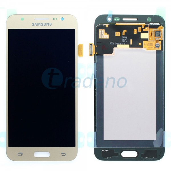 Samsung SM-J500F Galaxy J5 - Display Einheit Gold - Touchscreen + LCD