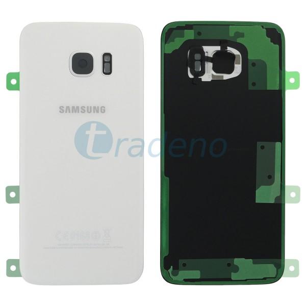 Samsung G935F Galaxy S7 Edge Akkudeckel, Batterie Cover Weiss
