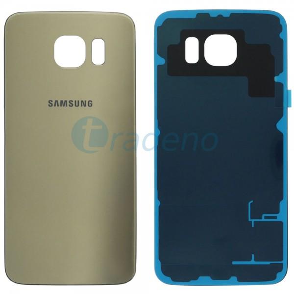 Samsung SM-G920F Galaxy S6 - Akkudeckel Gold