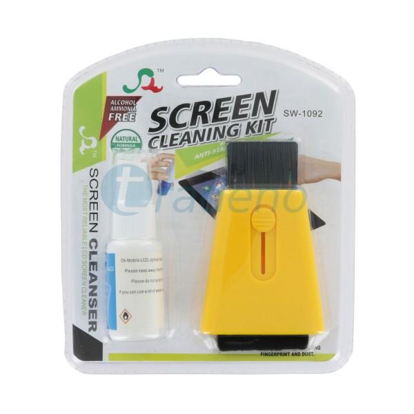 Tablet Reinungsspray - Screen Cleaning Kit mit Staubpinsel
