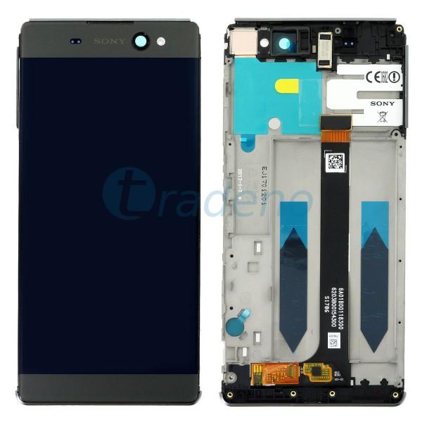 Sony Xperia XA Ultra Dual F3216 Display Einheit, LCD, Rahmen Schwarz