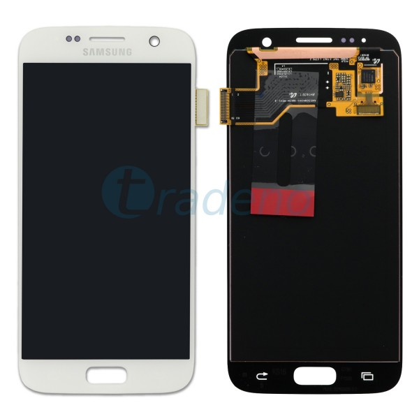 Samsung SM-G930F Galaxy S7 - Display Einheit Weiss - LCD + Touchscreen