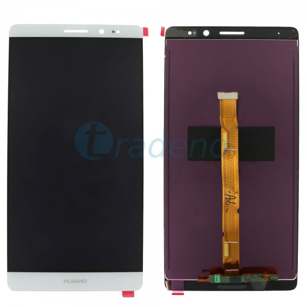 Huawei Mate 8 - Display Einheit - Touchscreen + LCD Weiss