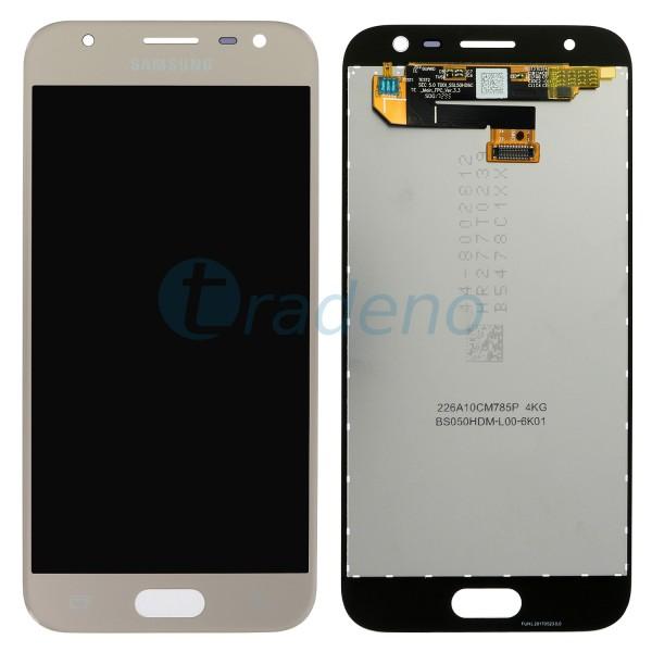 Samsung Galaxy J330F J3 (2017) Display Einheit, LCD Gold