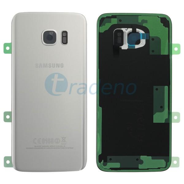 Samsung G935F Galaxy S7 Edge Akkudeckel, Batterie Cover Silber