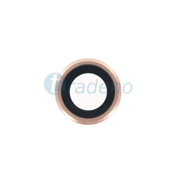 Kameraglas - Ring - für iPhone 6S Rose Gold