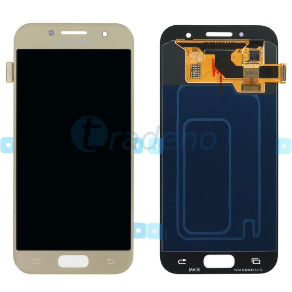 Samsung SM-A320F Galaxy A3 (2017) Display Einheit, LCD Gold