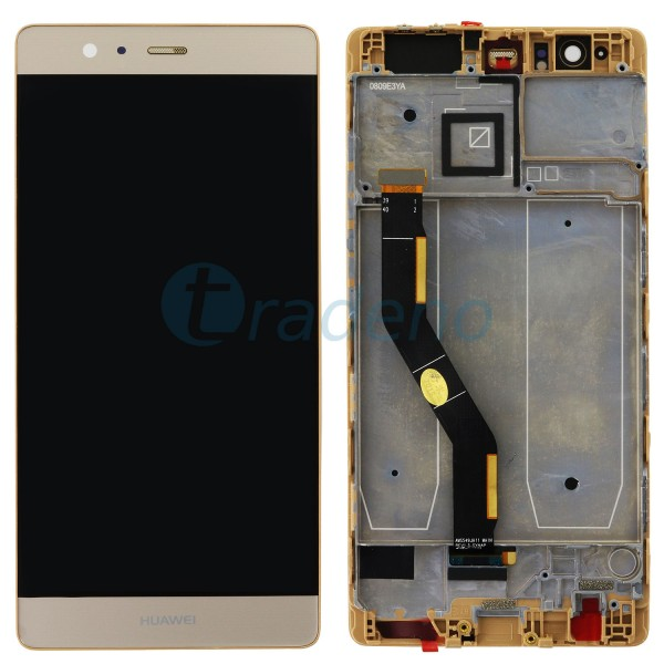 Huawei P9 Plus Display Einheit, LCD, Rahmen Gold