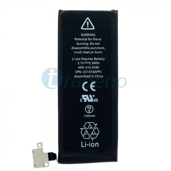 Akku Batterie für iPhone 4S - 3.7V 1430mAh 616-0580