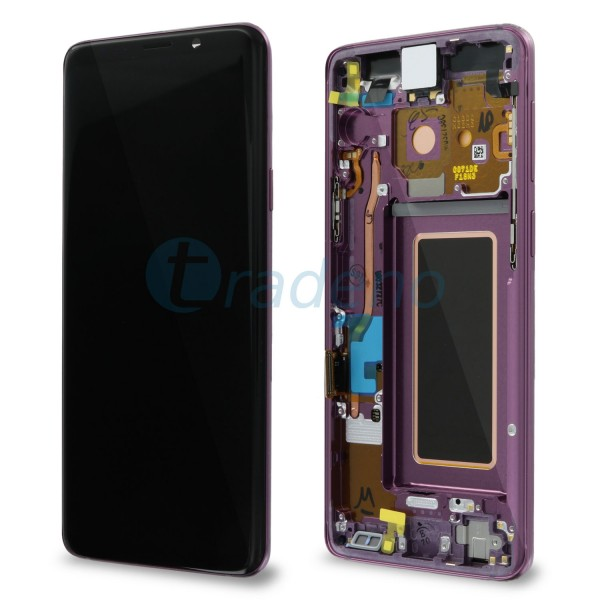Samsung SM-G960F Galaxy S9 Display Einheit Violett Lilac Purple