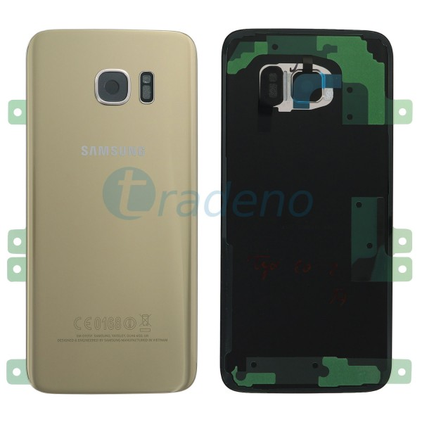 Samsung G935F Galaxy S7 Edge Akkudeckel, Batterie Cover Gold