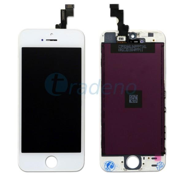 Display Einheit für iPhone 5S / SE refurbished Weiss