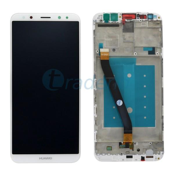 Huawei Mate 10 Lite Display Einheit, LCD ink. Rahmen Weiß