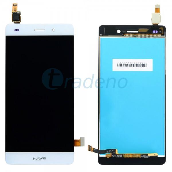 Huawei P8 Lite Display Einheit - LCD + Touchscreen Weiss