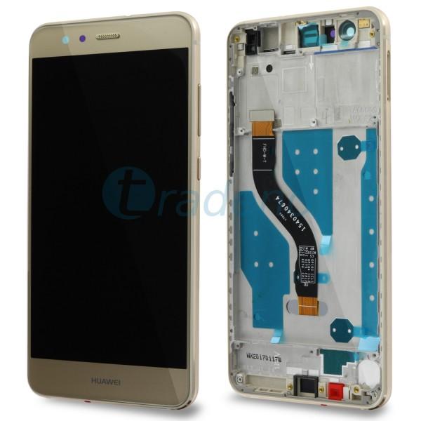 Huawei P10 Lite Display Einheit, LCD, Rahmen Gold