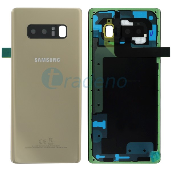 Samsung N950F Galaxy Note 8 Akkudeckel Gold