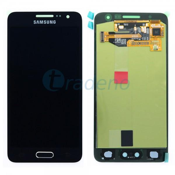 Samsung A300F Galaxy A3 - Display Einheit - Touchscreen + LCD, Schwarz